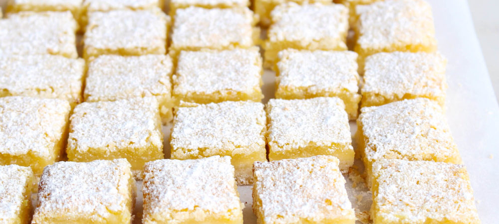 Simple Lemon Squares