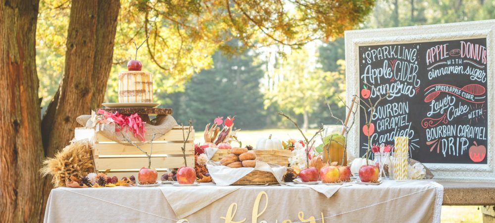 Fall Apple Harvest Party in the Park